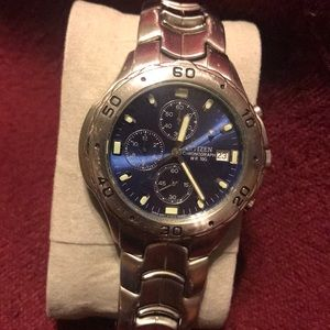 Citizen Stainless Steel chronograph wristwatch